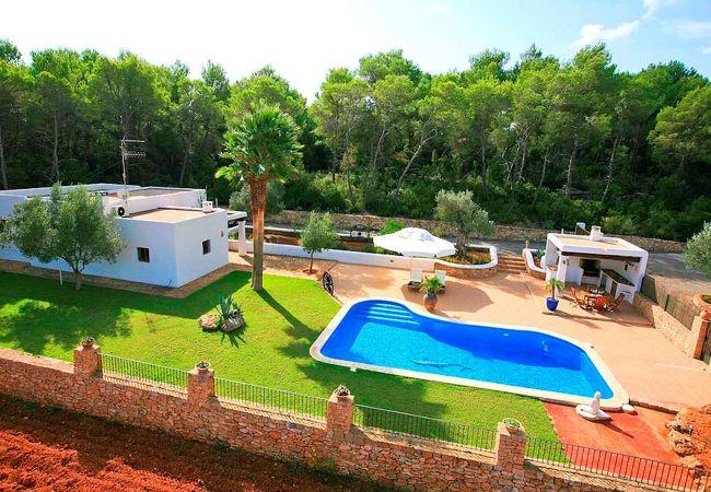 Villa a Santa Eulalia des Riu - Villa Can Curreu