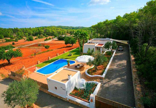 Villa in Santa Eulalia des Riu - Villa Can Curreu
